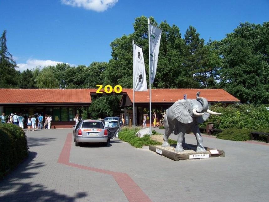 Зоопарк в Остраве