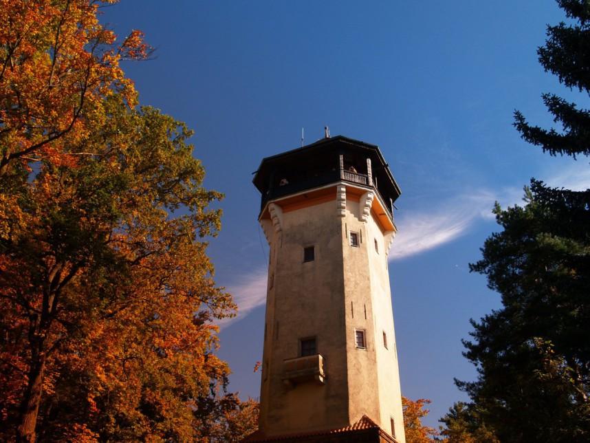 Обзорная башня Диана