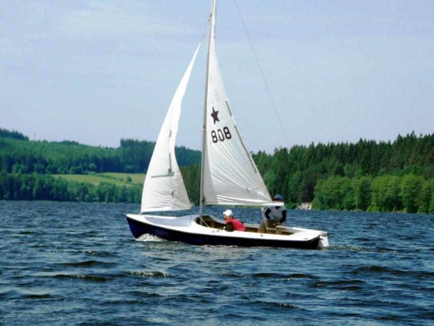 Развлечения на озере Липно