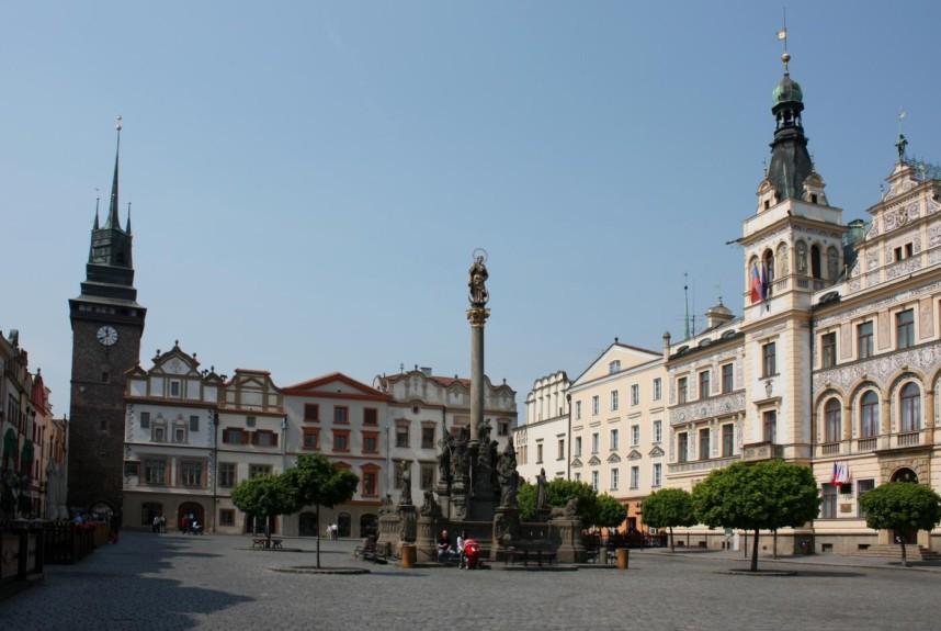 Площадь в Пардубице