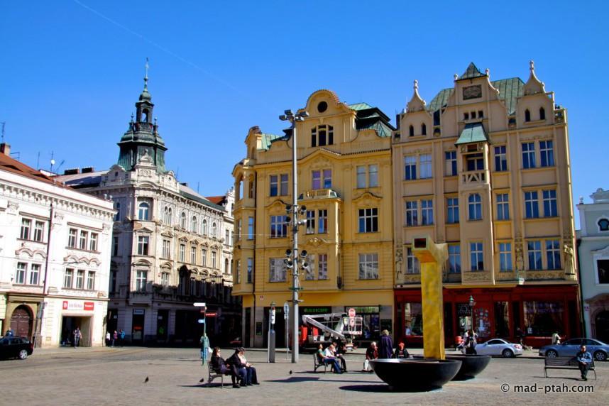 Площадь в Пльзень
