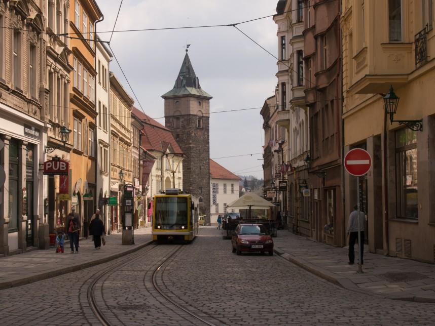 Улицы Пльзень