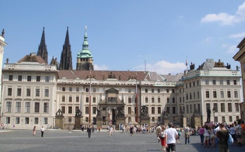 Дворец на территории Пражского Града