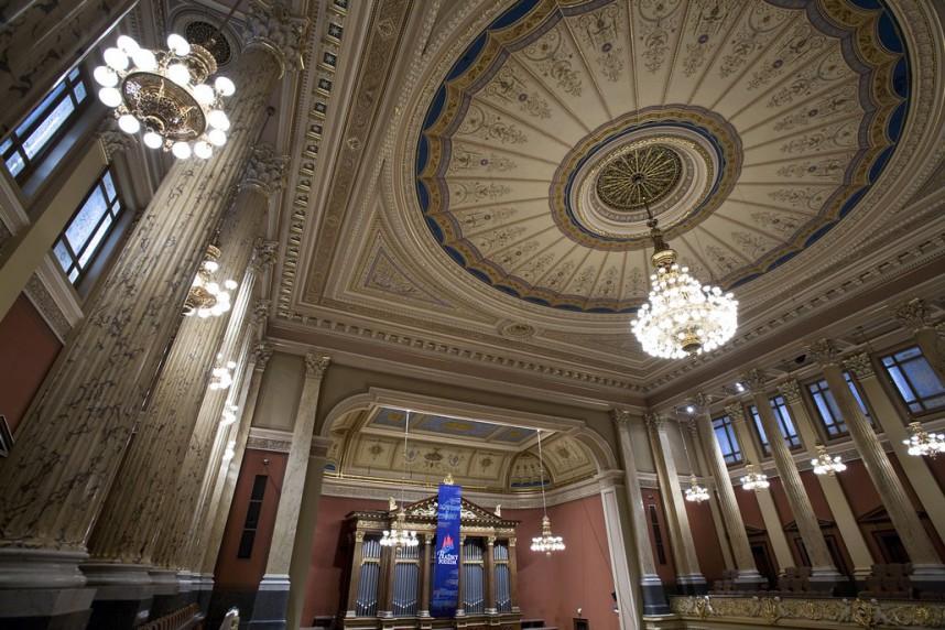 Потолок концертного зала в Рудольфинуме