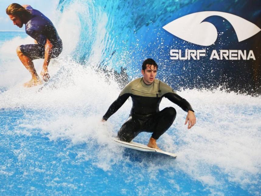в Surf Arena
