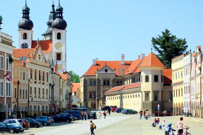 Тельч, Чехия