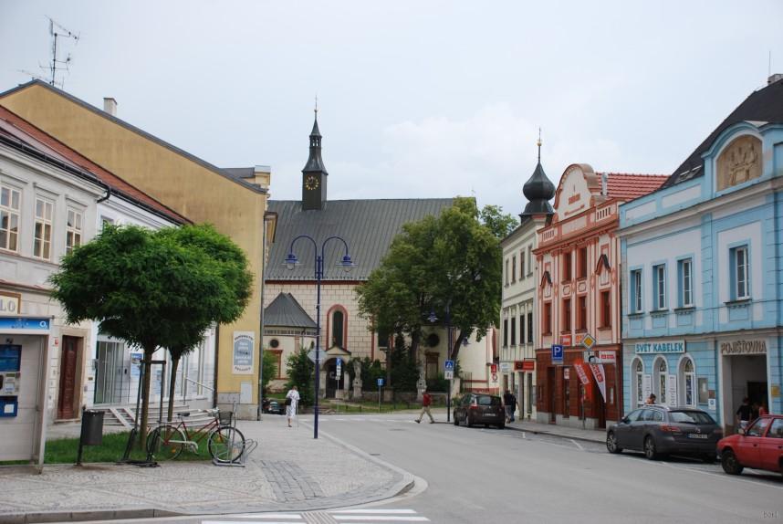 Тельч, улица