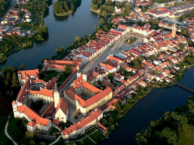 Город Тельч, Чехия