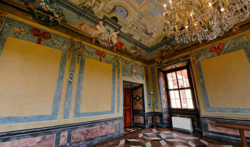 Интерьер Тройского замка