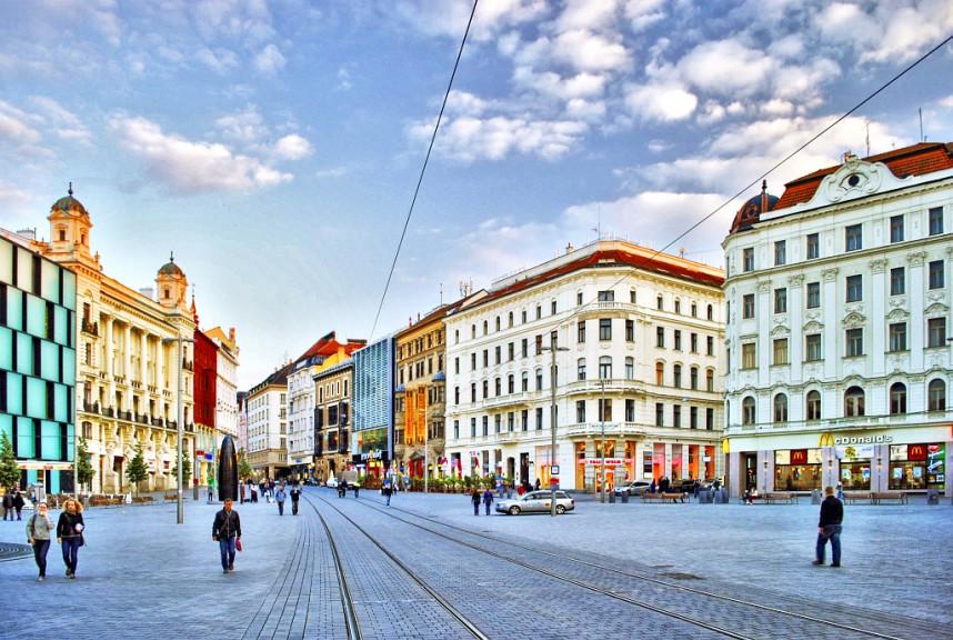 Улочки города Брно