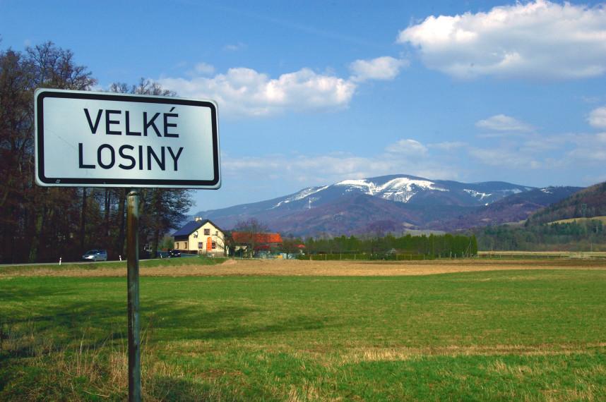 Велке Лосины, Чехия