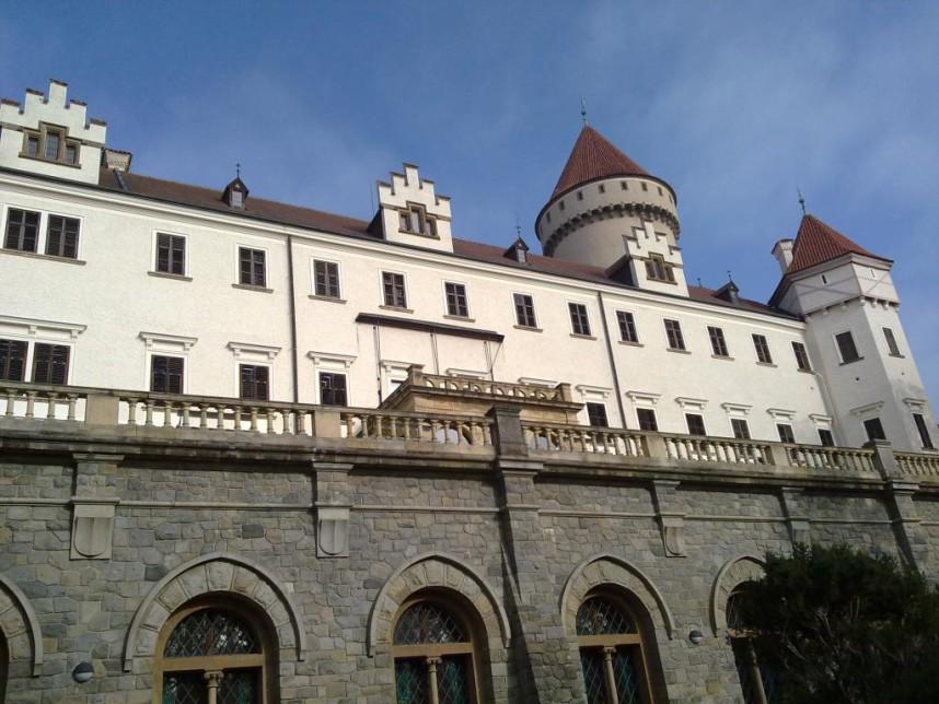 Фасад Замка Конопиште