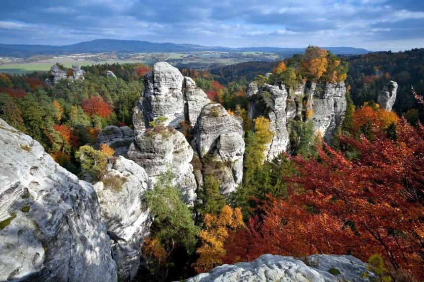 Панорама Чешского рая