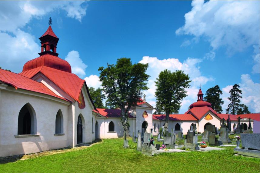Территория церкви в Ждяр-над-Сазавоу