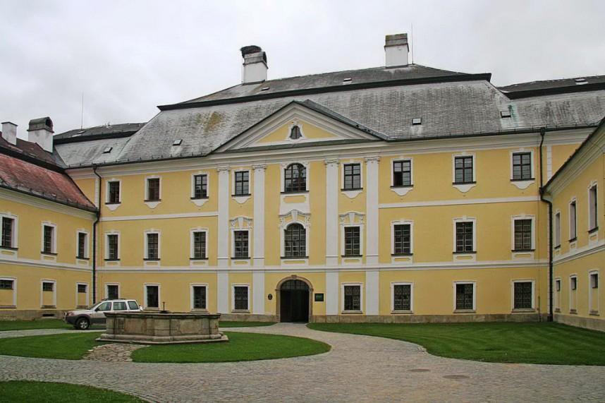 Внутренний двор замка Ждяр-над-Сазавоу