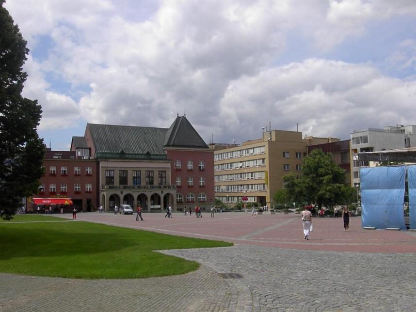 Площадь в Злине