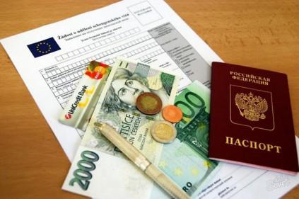 Виза в Чехию - что, как и сколько?