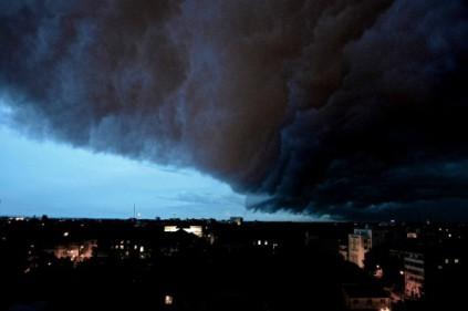 В Чехии остановлено движение из-за бурь