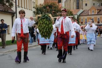Праздник сбора винограда в Чехии