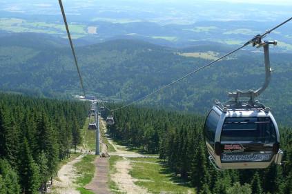 Новая канатная дорога в Чехии готовится к запуску
