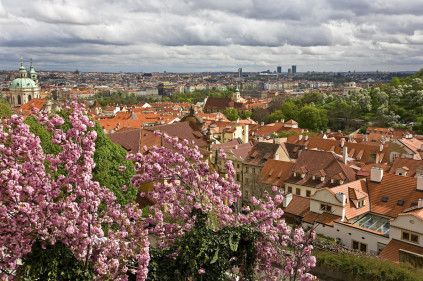 Чехия в марте 2012: аномально теплая погода