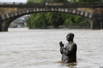 Последствия наводнений в Чехии