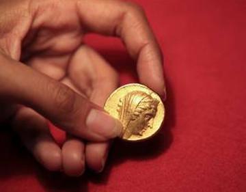 В Израиле на раскопках нашли монету с изображением чешского короля