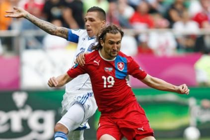 Евро 2012: сборная Чехии обыграла Грецию