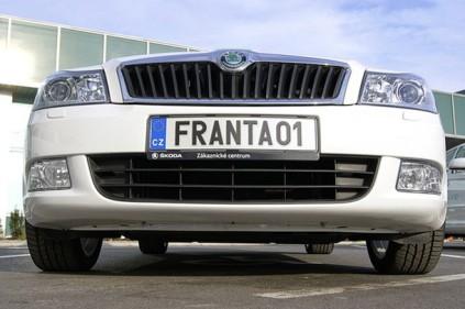 В Чехии можно придумывать автомобильные номера