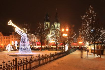 60 тысяч россиян встретят Новый год в Чехии