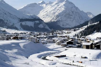 Австрийский горнолыжный курорт Санкт-Антон