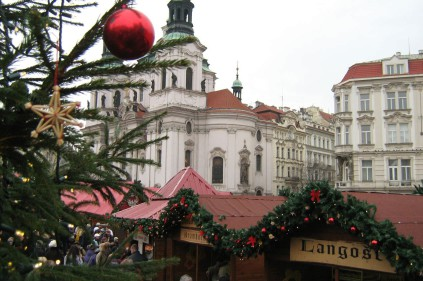 В субботу открывается рождественский базар на Староместской