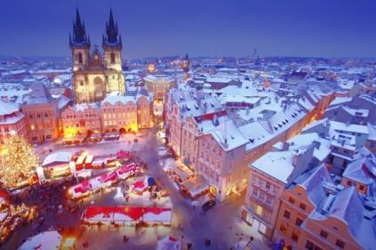 Новый год на СПА-курортах Чехии